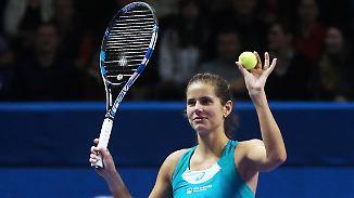Kerber entthornt: Görges ist die neue deutsche Nr. 1 im Tennis