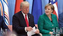 """""""Das sind Freunde"""": Trump findet deutsch-iranischen Handel okay"""