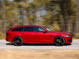 Mit dem XF-Sportbrake hat Jaguar ein technisch neues Auto auf die Räder gestellt.