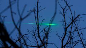 Laserpointer sorgen immer wieder für Ärger in der Luftfahrt
