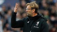 """""""Ruinenlust"""" gegen Tottenham: Klopp verspottet seine Liverpooler Abwehr"""
