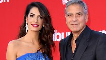 Bei der Arbeit als Anwältin: Auch Amal Clooney wurde sexuell belästigt