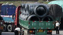 Kohle, Eisen, Treibstoff: Nordkoreas Handel mit China bricht ein