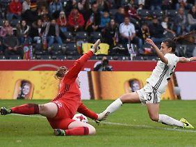Hasret Kayikci glänzte mit vier Toren für Deutschland.