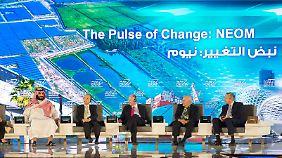 Deutscher leitet 500-Milliarden-Projekt: Saudi-Arabien plant Mega-Wirtschaftscity in der Wüste