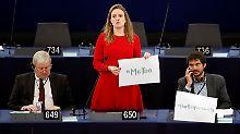 Die deutsche Grünen-Abgeordnete Terry Reintke engagiert sich als frauenpolitische Sprecherin gegen sexuelle Übergriffe.