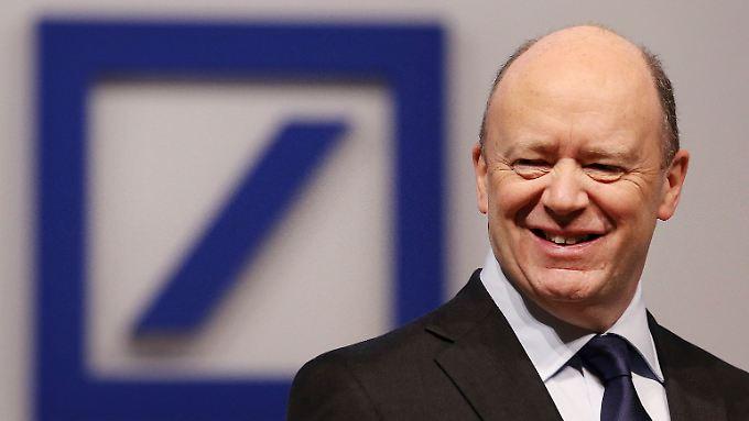 """""""Sind überzeugt, dass die Früchte unserer Arbeit (...) sichtbarer werden"""": Deutsche-Bank-Chef John Cryan."""