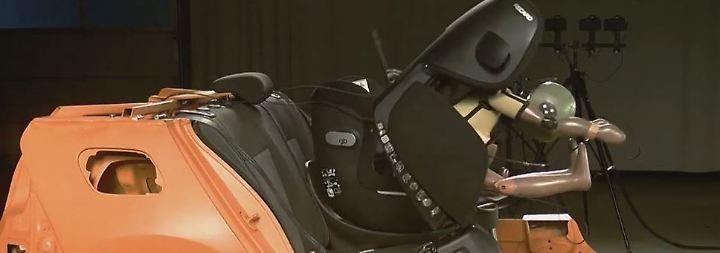 n-tv Ratgeber: Nicht alle Kindersitze schützen zuverlässig