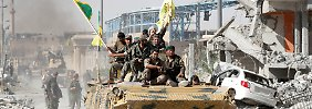 """Syriens Ordnung nach dem IS: """"Assad wird auf unseren Widerstand stoßen"""""""