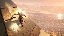 """Ambitioniertes Abenteuer im Test: """"Assassin's Creed"""" entführt ins Alte Ägypten"""