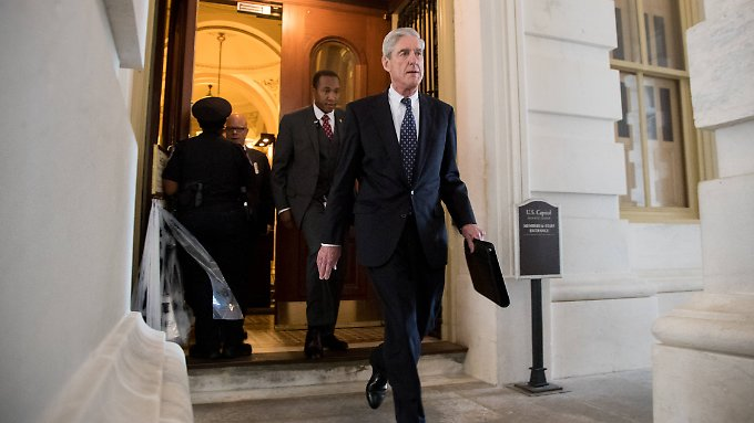 Nach Monaten der Ermittlung unter Leitung des FBI-Sonderermittlers Mueller liegen offenbar belastbare Beweise vor.
