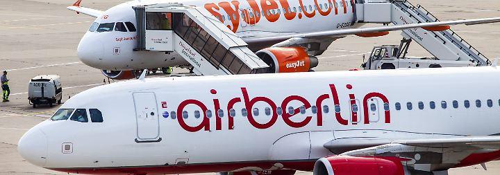 Letzter Air-Berlin-Flug gelandet: Easyjet übernimmt Teile der Pleite-Airline