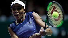 Großes Tennisfinale in Singapur: Williams will WM-Krone gegen Wozniacki