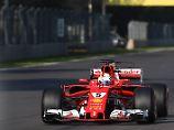 Strohhalm für Hamilton-Verfolger: Sebastian Vettel fährt auf Pole in Mexiko