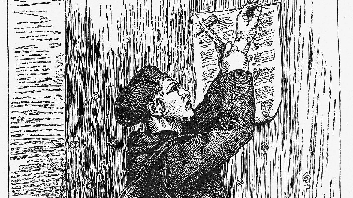 Wo Hat Luther Seine Thesen Angeschlagen