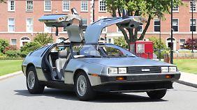 """Der Fluxkompensator brachte den DeLorean """"Zurück in die Zukunft"""", heute ist es ein E-Antrieb."""