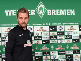 Gekommen, um zu bleiben? Florian Kohfeldt in Bremen.