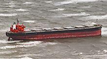 Rettungsaktion vor Langeoog: Havarierter Frachter ist fast frei