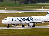 """""""Reaktionen sind ziemlich gut"""": Finnair schickt Passagiere auf die Waage"""