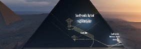 Geheimnis der Cheops-Pyramide: Forscher entdecken riesigen Hohlraum