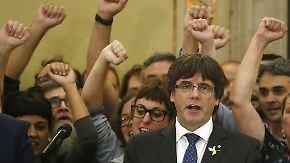 Europäischer Haftbefehl: Gericht klagt Puigdemont wegen Rebellion an