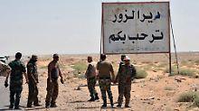 IS verliert weiter an Boden: Syrische Armee nimmt Deir Ezzor ein