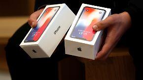 Verkaufsstart des iPhone X: Schafft Apple zu Weihnachten die Billionenmarke?