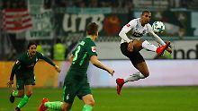 Haller sichert SGE drei Punkte: Werder Bremen setzt Sieglos-Serie fort