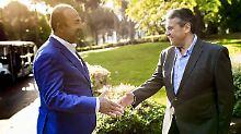 Diplomatie im Ferienparadies: Gabriel und Cavusoglu nähern sich an