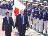"""""""Nicht die Zeit für Dialog"""": Japan und USA verschärfen Nordkorea-Kurs"""