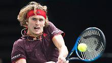 Alexander Zverev ist erst 20 Jahre jung - und seit heute Weltranglistendritter.
