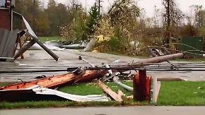 Acht Menschen verletzt: Sturm richtet schwere Schäden in Ohio an