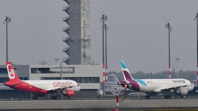 Wie umsteigen? Die Gewerkschaft Cockpit attackiert die Lufthansa-Tochter Eurowings.