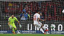 Lezcano erzielte per Strafstoß den Siegtreffer.