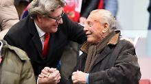 Köln-Legende Hans Schäfer wurde 90 Jahre alt.