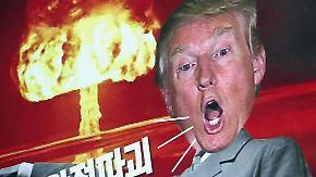 Heikles Treffen mit Trump: Südkoreaner fürchten militärischen Flächenbrand