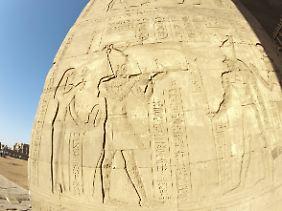 Tempel von Edfu.