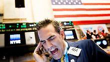 Wann kommt die Korrektur?: Aktienkurse gehen auf Bröckelkurs