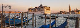 Neues Terminal in Marghera: Venedig verbannt bald Kreuzfahrtkolosse