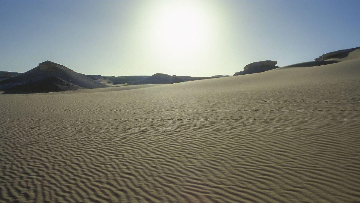 Kältere Arktis ließ Sahara austrocknen