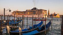 Kampf gegen die Riesenkreuzer: Venedig verbannt die Ökomonster