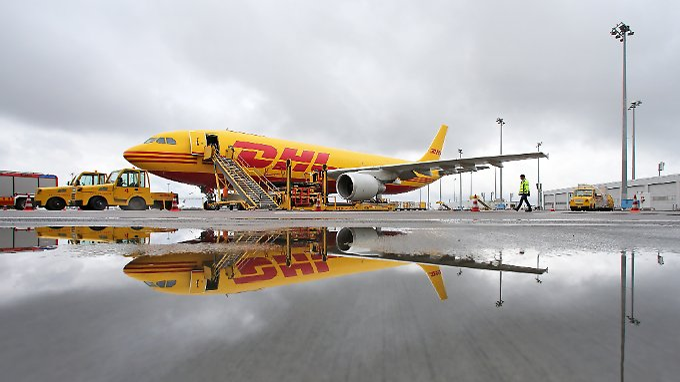 Der Sommer war die stärkste Luftfrachtzeit für DHL seit der Finanzkrise.
