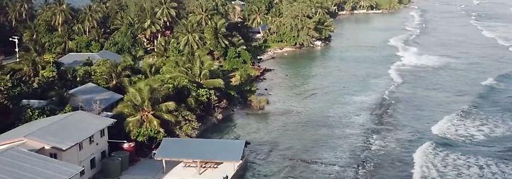 Paradies am Wasser gebaut: Marshallinseln kämpfen verzweifelt gegen Meeresanstieg