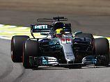 Weltmeisterlich vor Grand Prix: Hamilton rast in Brasilien zu Streckenrekord