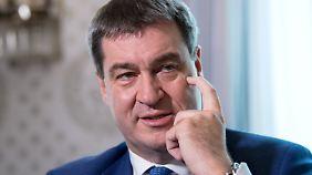 Kein Geheimnis: Markus Söder wäre gern Ministerpräsident anstelle des Ministerpräsidenten.
