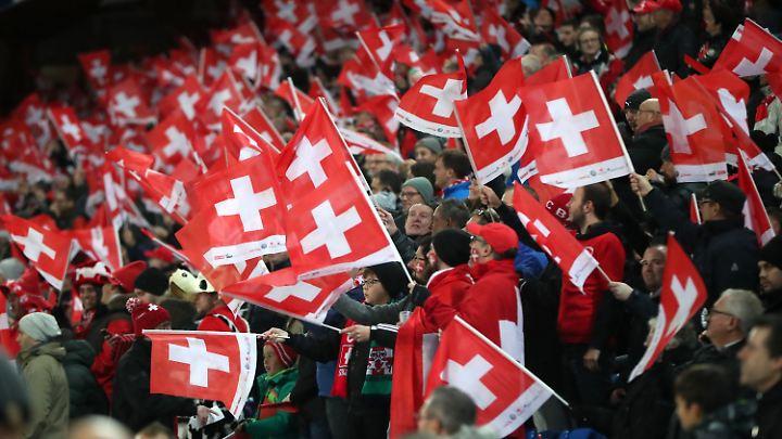 Schon zum vierten Mal in Serie dürfen die Schweizer Fans über die WM-Qualifikation jubeln.