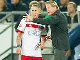 Der Sport-Tag: HSV: Holtby zofft sich offenbar mit Trainer Gisdol