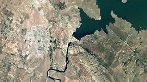 Nach schwerem Erdbeben: Riesiger Staudamm droht im Irak zu brechen