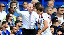 Trainer Sean Dyche qualifiziert sich beim FC Burnley derzeit für größere Aufgaben.