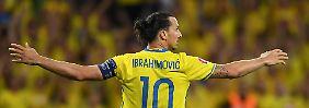 Mit oder ohne Superstar zur WM?: Schweden diskutiert Ibrahimovic-Rückkehr